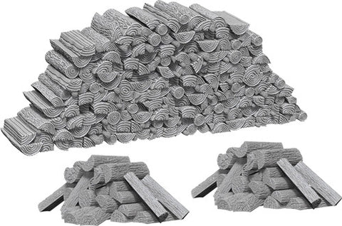 WizKids Deep Cuts Unpainted Miniatures: Piles of Wood
