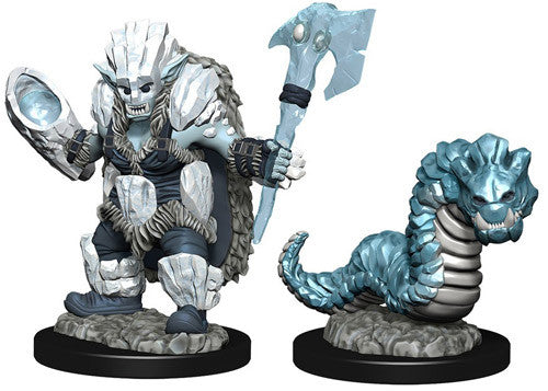 Wardlings: Ice Orc & Ice Worm