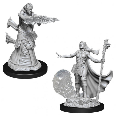 Dungeons & Dragons: Nolzur's Marvelous Unpainted Miniatures: Female Human Wizard