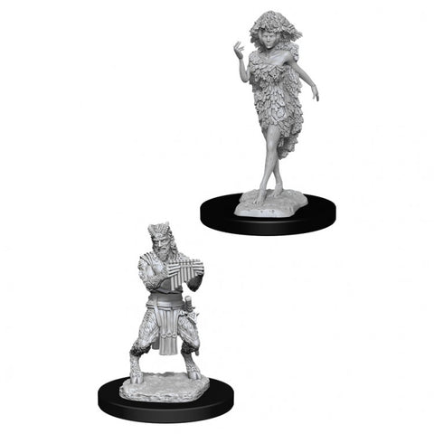 Dungeons & Dragons: Nolzur's Marvelous Unpainted Miniatures: Satyr & Dryad