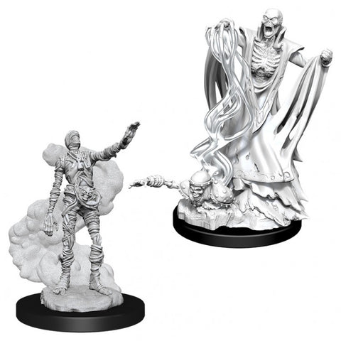 Dungeons & Dragons: Nolzur's Marvelous Unpainted Miniatures: Lich & Mummy Lord