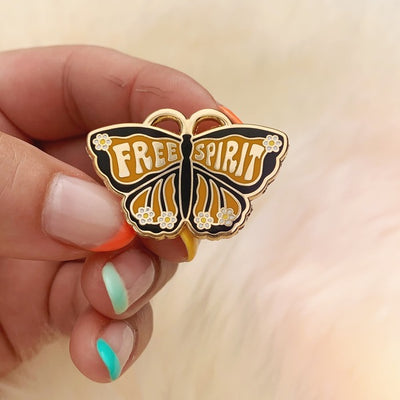 Free Spirit Butterfly Pin