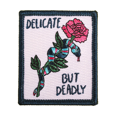 Delicate but deadly Patch