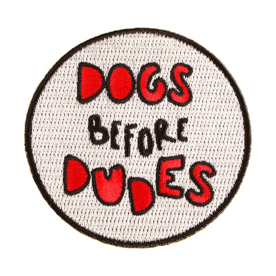 Dog Before Dudes Patch