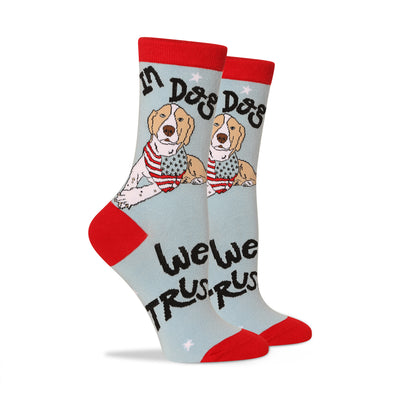 In dog we trust Women's Socks