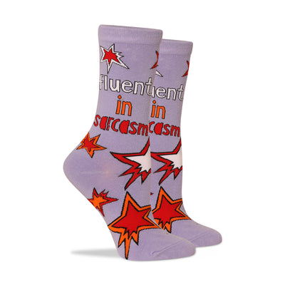 Fluent in sarcasm Women's Socks