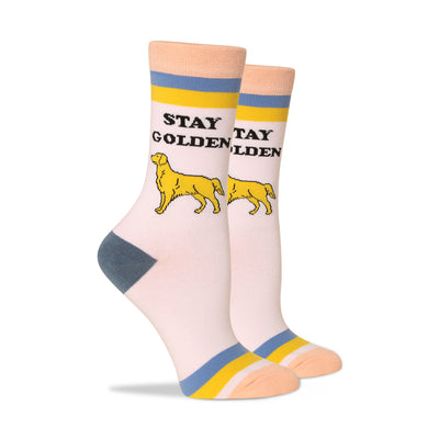 Stay Golden Women's Socks