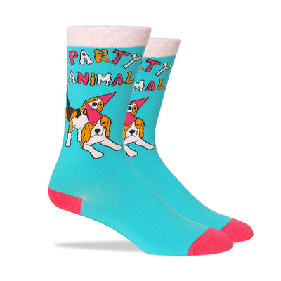 Party Animal Men's Socks