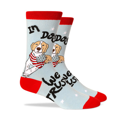 In dog we trust Men's Socks