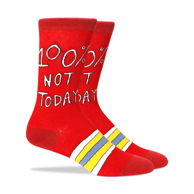 100% Not today Men's Socks