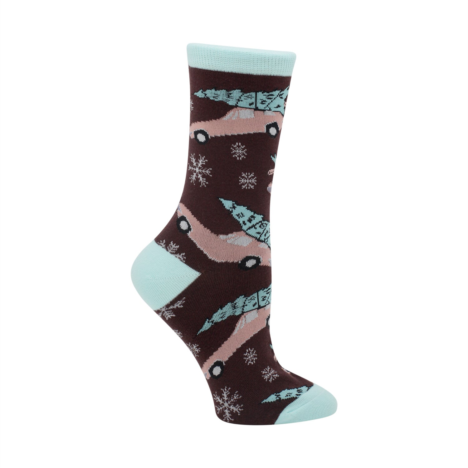 Cruisin' Into the Holiday Women's Socks