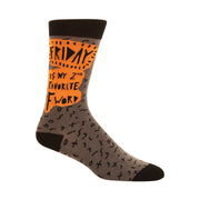 Friday Is My Second Favorite F Word Men's Socks
