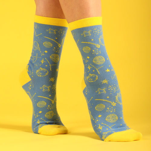 The Age of Aquarius Women's Socks