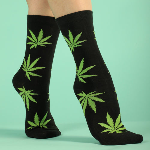 Pot Leaf Women's Socks