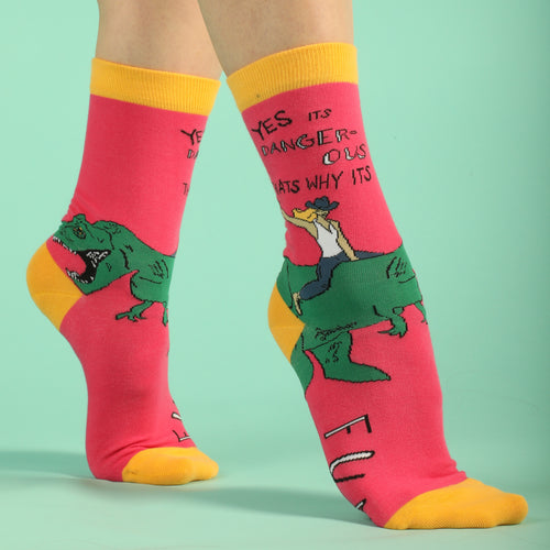 Danger is Fun Women's Socks
