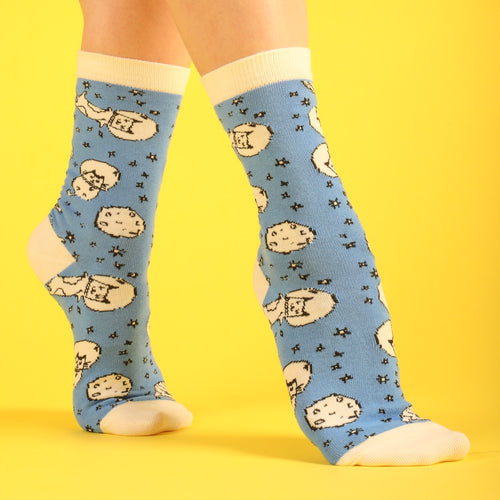 Space Cat Women's Socks