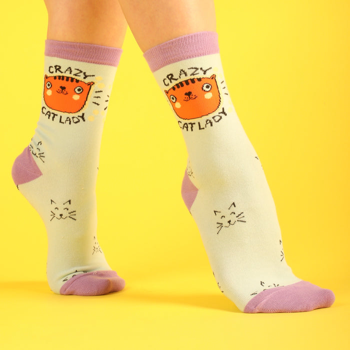 Crazy Cat Lady Women's Socks