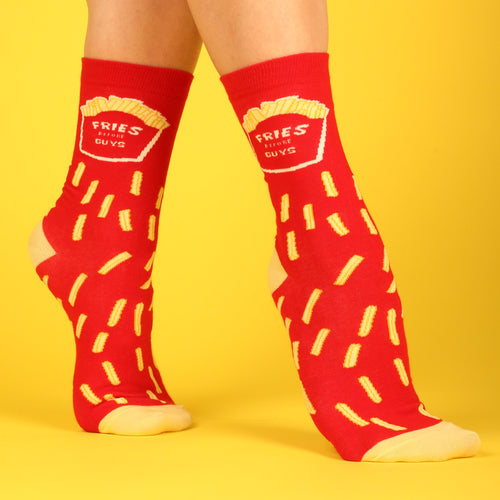 Fries Before Guys Women's Socks