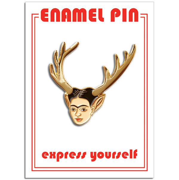 Wounded Deer Pin
