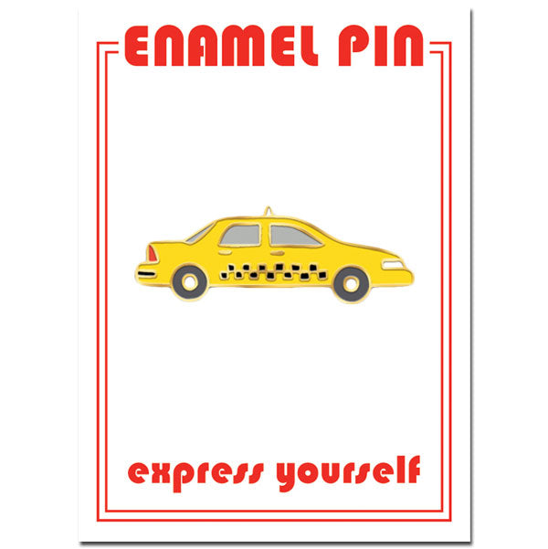 Yellow Cab Pin