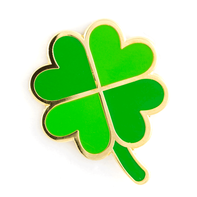 Four Leave Clover Pin
