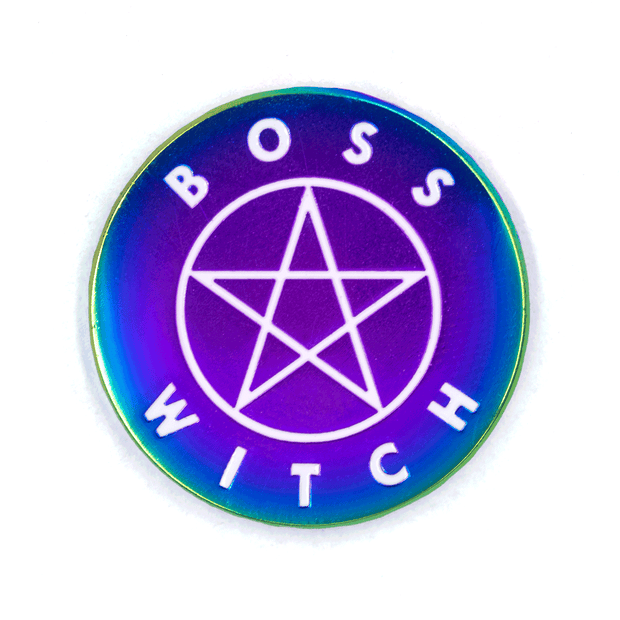 Boss Witch Pin