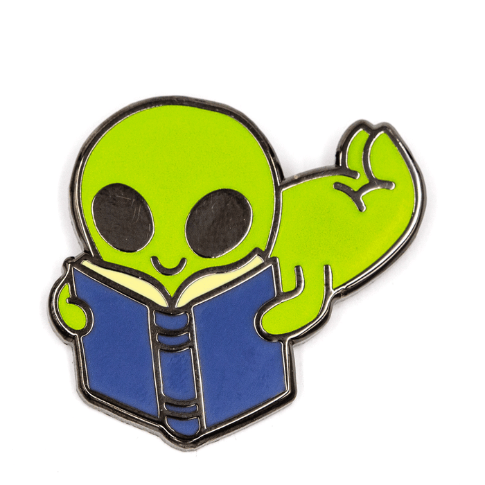 Reading Alien Pin