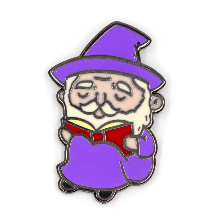 Reading Wizard Pin