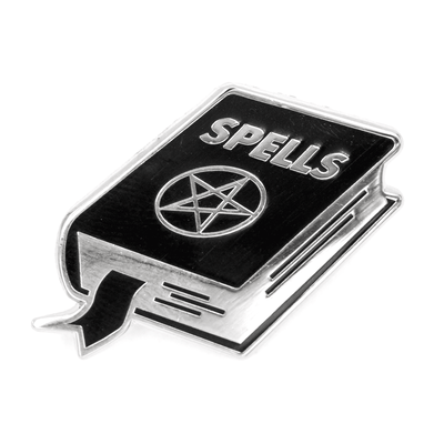 Spell Book Pin
