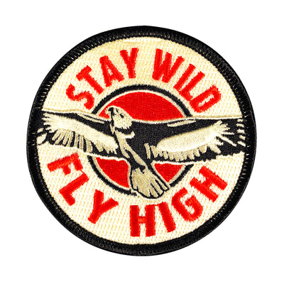 Stay Wild Fly High Patch
