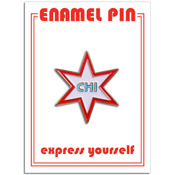 Chicago Star Pin