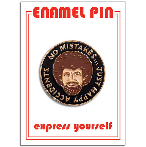 No Mistakes Pin