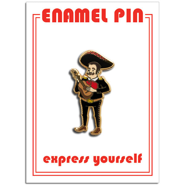 Mariachi Player Pin