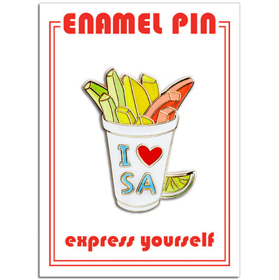 San Antonio Fruit Cup Pin