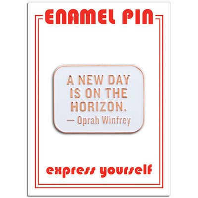 Oprah Quote Pin