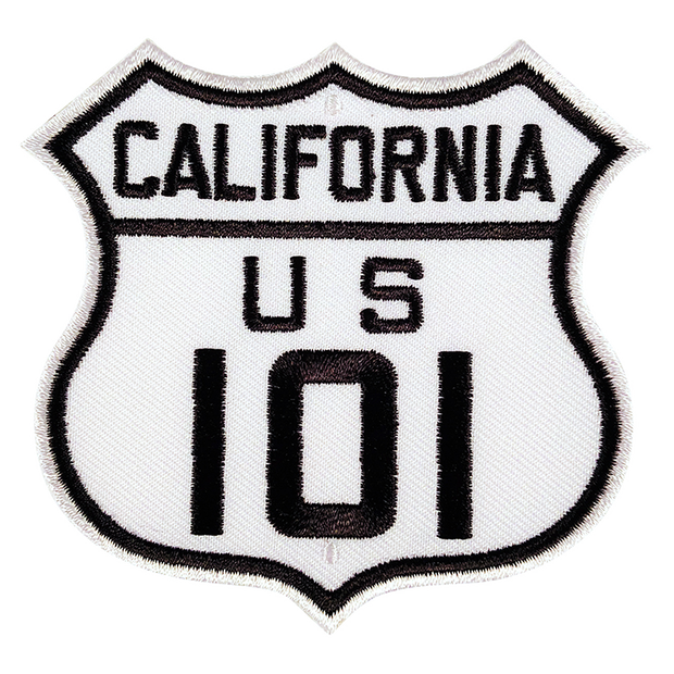 California US 101 Patch
