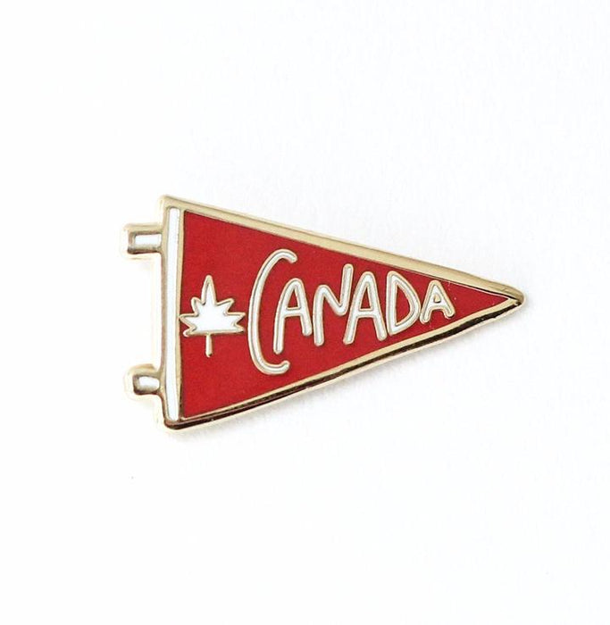 Canada Penant Flag Pin