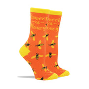 Sweet as Honey Women's Socks