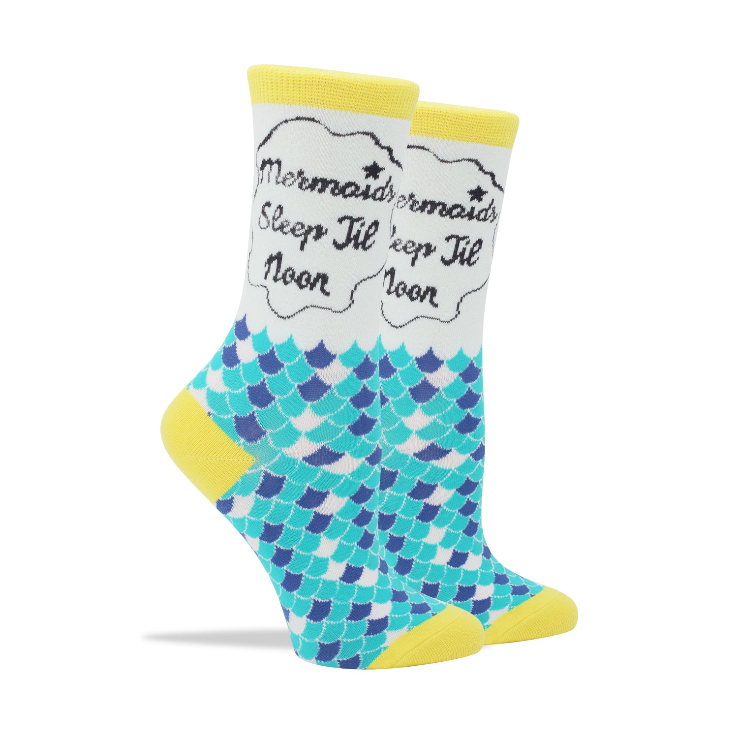 Mermaids Sleep Till Noon Women's Socks