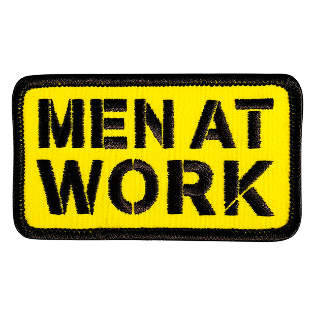 Men At Work Patch