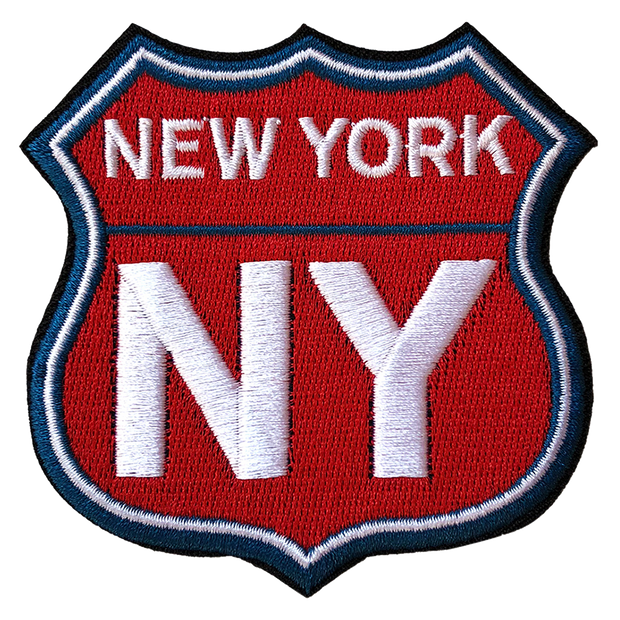 New York Badge Patch