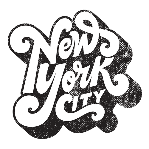 New York Typography T-Shirt