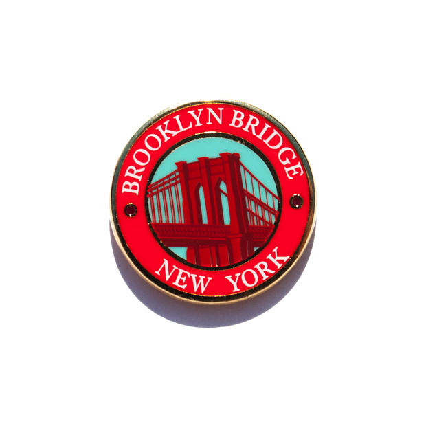 Brooklyn Bridge Enamel Pin