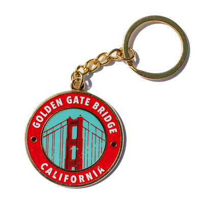California Golden Gate Bridge Keychain