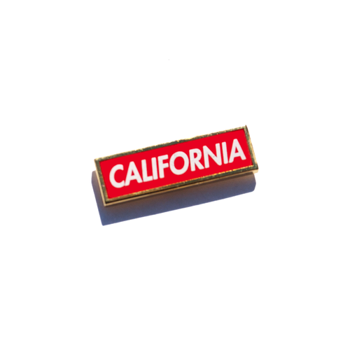 California Bold Enamel Pin