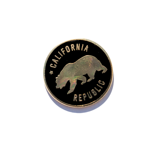 California Republic Enamel Pin