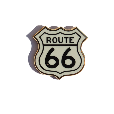 Route 66 Enamel Pin