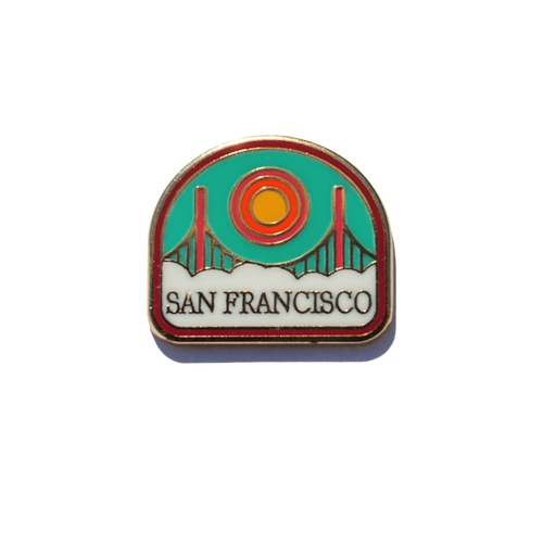 San Francisco Enamel Pin
