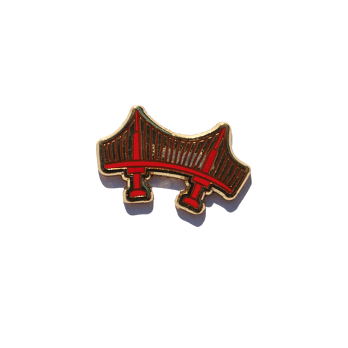 Golden Gate Bridge Enamel Pin