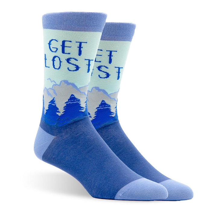 Get Lost Outside Men's Socks